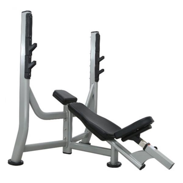 Наклонная олимпийская скамья M-025 Body Strong