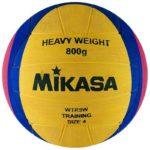 Мяч для водного поло MIKASA WTR9W, утяжеленный, размер 4