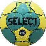 Мяч гандбольный SELECT Solera, арт.843408-545, Mini (р.0), EHF Appr