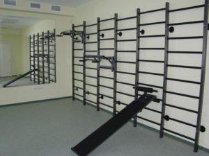 Навесное оборудование для гимнастических стенок