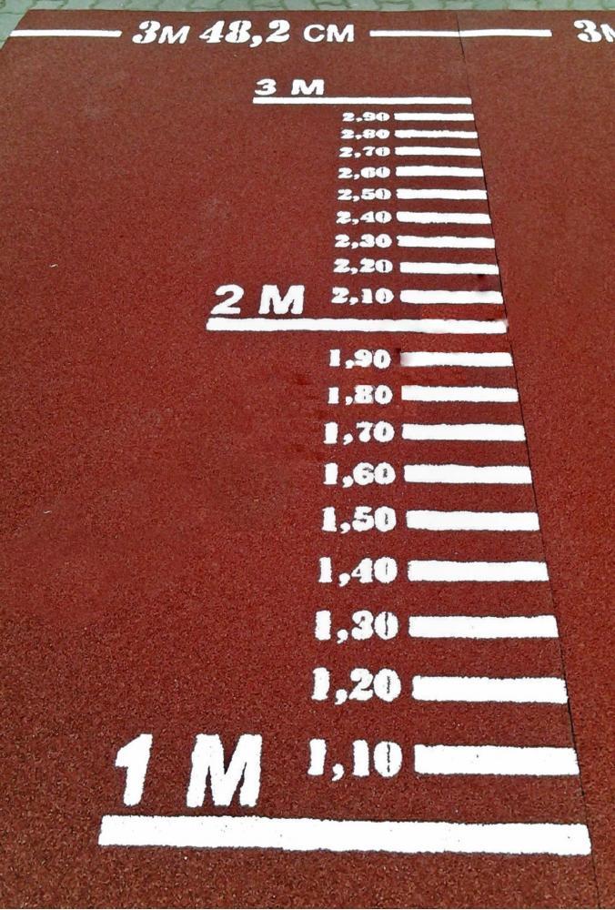 Дорожка для прыжков в длину с места