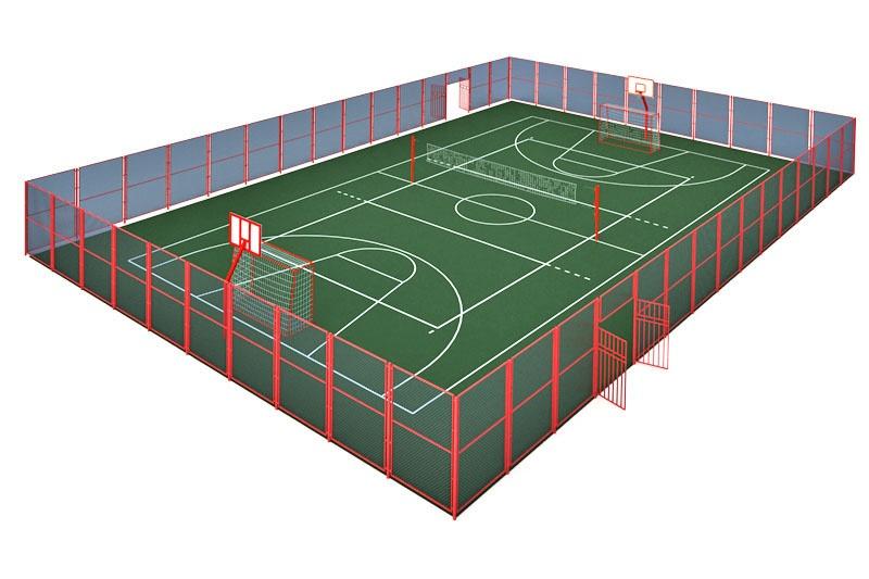 Универсальная спортивная площадка
